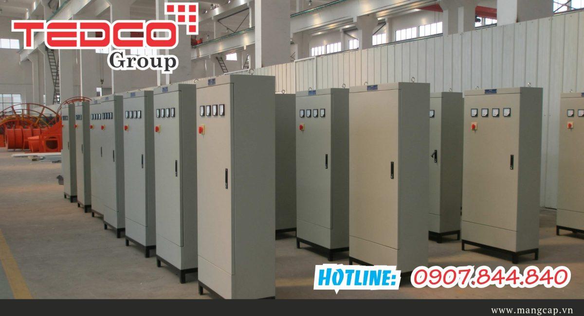Thi công lắp đặt tủ điện công nghiệp của nhà thầu điện TEDCO 1