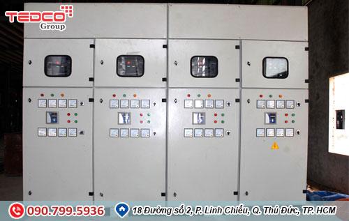 Quy trình thi công tủ điện của nhà thầu điện TEDCO 1