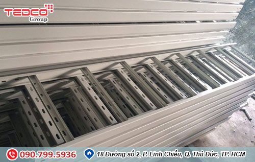 Nhà thầu điện TEDCO chuyên sản xuất thang máng cáp 1