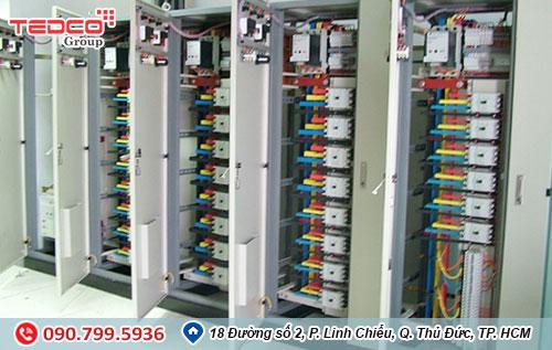 TEDCO- thi công lắp đặt tủ điện 1