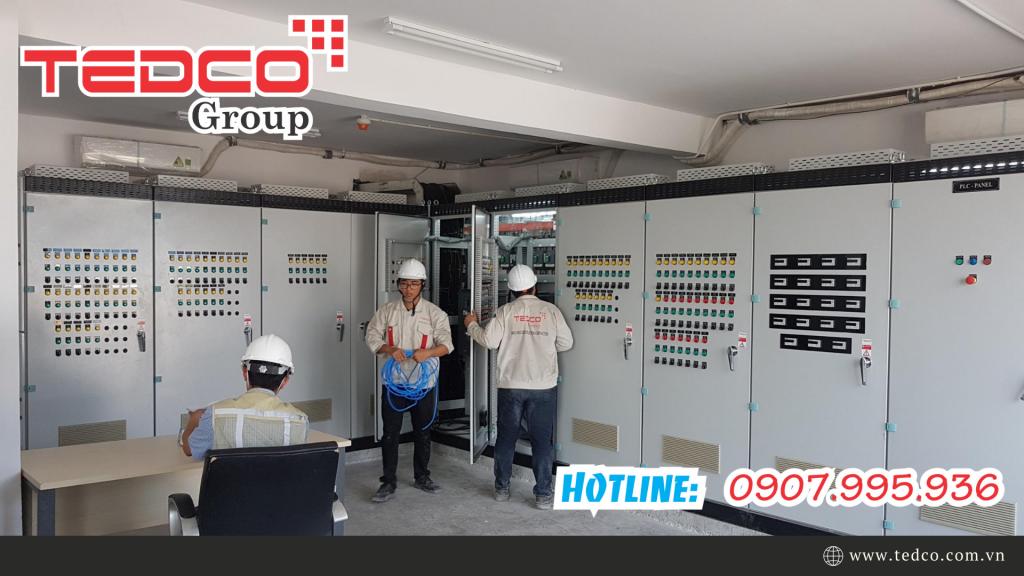 Công ty thi công tủ điện