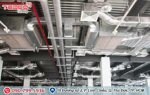 TEDCO Lắp đặt hệ thống thông gió- Phương pháp thông gió 1