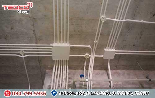 Thi công điện nước - bảng báo giá chi tiết từ nhà thầu Tedco 3