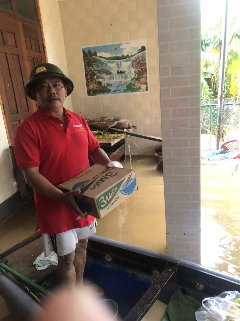 Tedco chia sẻ nỗi đau vì lũ lụt ở miền Trung